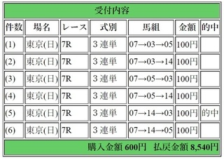 2018年6月10日東京7R8540円3連単6点.jpg