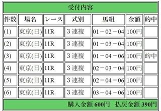 2019年2月10日東京11R390円3連複.jpg