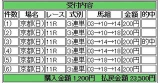2013年10月20日菊花賞京都11750円 keiba.jpg