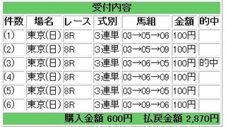 2013年2月17日東京8R2870円.jpg