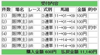 2013年2月23日阪神8R11140円.jpg