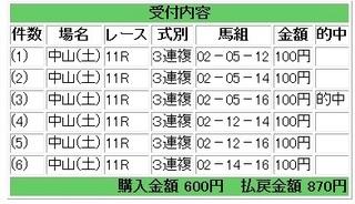 2013年3月9日中山11R870円.jpg