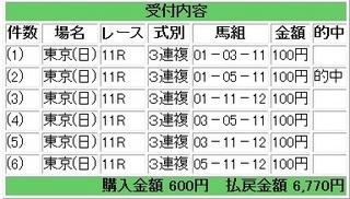 2013年4月28日東京11R6770円3連複.jpg
