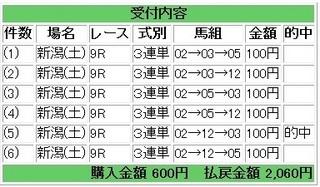 2013年5月4日新潟9R2060円.jpg