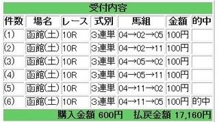 2013年6月15日函館10R17160円.jpg