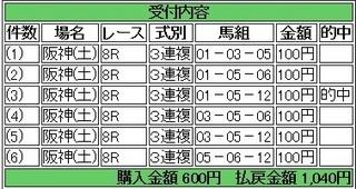 2013年9月14日阪神ジャンプS1040円3連複.jpg