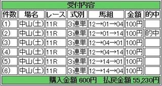 2014年1月18日中山11R55230円 keiba.jpg