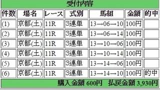 2015年11月14日デイリー杯2歳ステークス3960円3連単 keiba.jpg