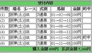 2015年12月19日阪神8R5160円3連単 keiba.jpg