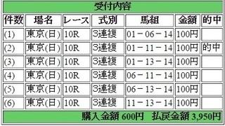 2015年5月31日 ダービー3950円3連複keiba.jpg