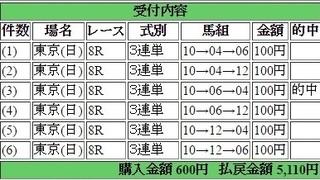 2016年5月1日東京8R5110円3蓮単 keiba.jpg