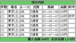 2017年5月6日東京9R3370円3連単.jpg