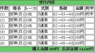 2017年6月11日阪神10R14600円3連単.jpg
