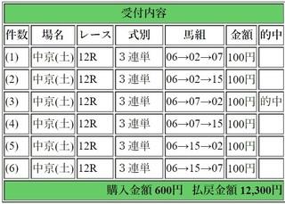 2018年12月15日中京12R12300円3連単.jpg