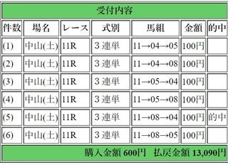 2018年12月22日中山11R13090円3連単.jpg