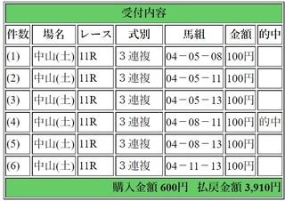 2018年12月22日中山11R3910円3連複.jpg
