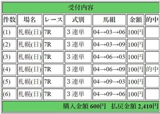 2018年7月29日札幌7R2410円3連単6.jpg