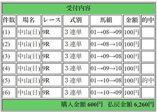 2019年3月31日中山9R6260円3連単.jpg