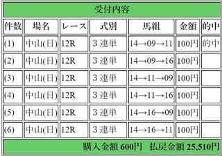 2019年3月3日中山12R25510円3連単.jpg