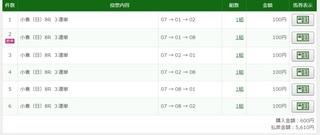 2019年8月11日小倉8R5610円3連単.jpg